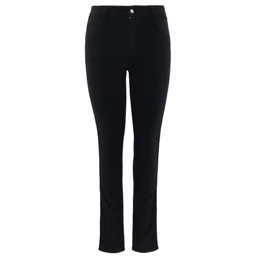 Ultra comfy high rise stretch denim jeans.