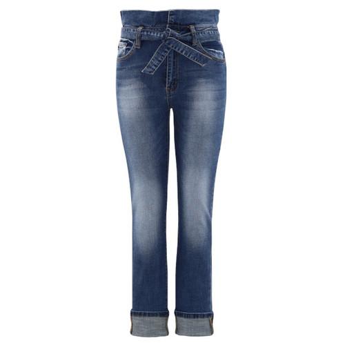 High Rise Paper Bag  Skinny Jeans