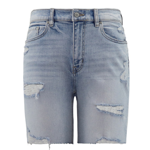Trendy Threads Boutique - High Rise Distressed Shorts