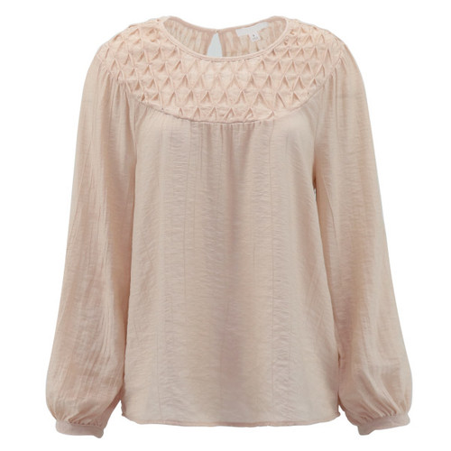 Gorgeous Blush Blouse