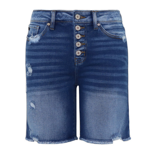 High Rise Jeans Shorts