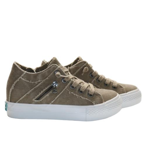Twill Platform Sneaker