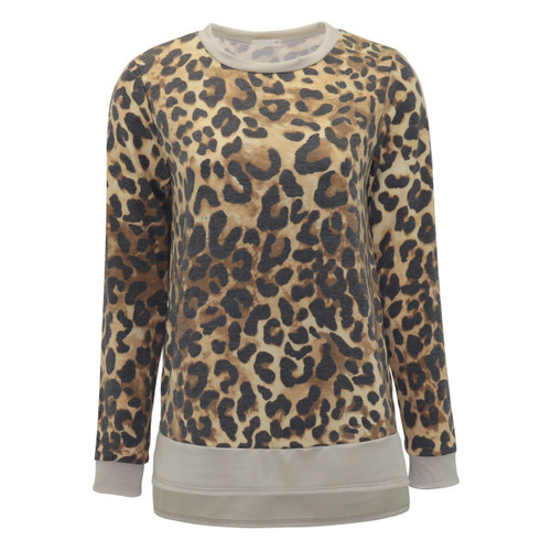 In The Moment Leopard Pullover