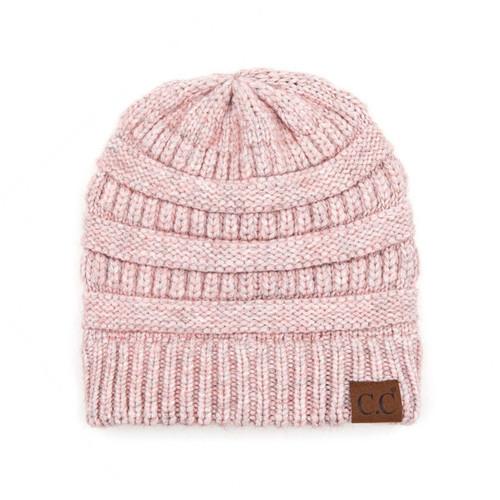 C.C Snuggly Soft Yarn Beanie - Rose Mix