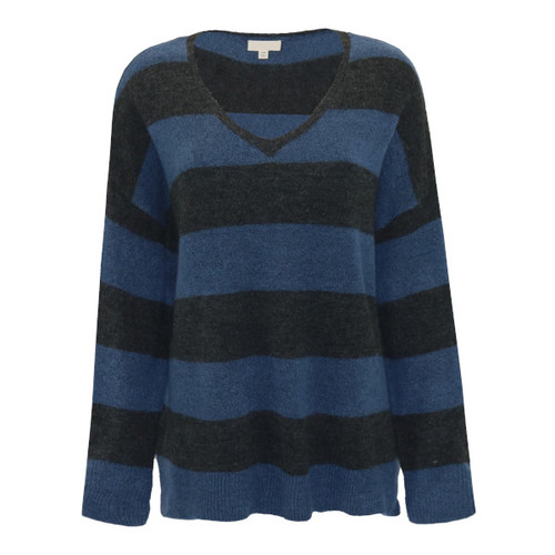 I Believe In You Striped Sweater