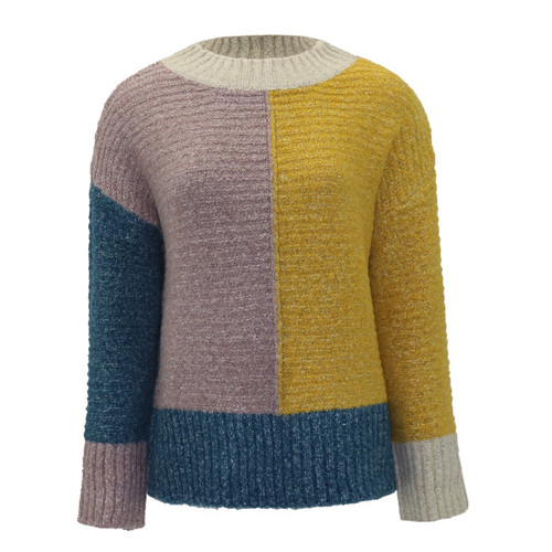 Moment Of Peace Mock Neck Sweater