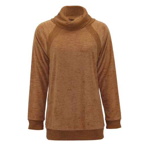 The Good Life Cowl Neck Top