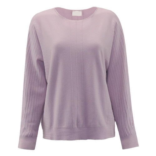 Without A Doubt Dolman Sleeve Sweater - Lilac