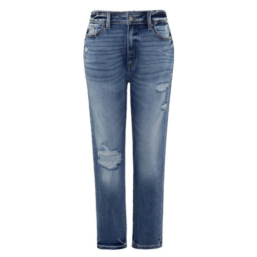 Kate High Rise Mom Fit Jeans by KanCan