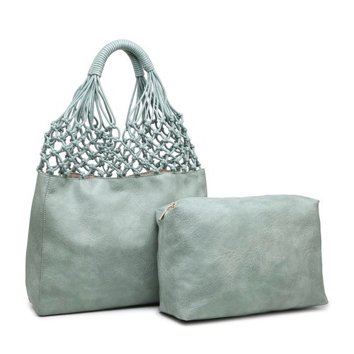 Athena 2-in-1 Tote - Light Teal