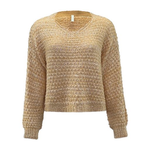 See The Truth Spring Sweater - Honey