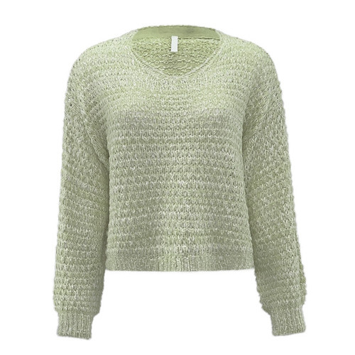See The Truth Spring Sweater - Sage