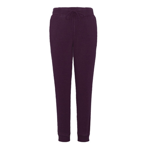Burnout Relaxed Fit Jogger - Plum