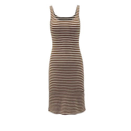 Macy Knit Tank Dress - Caramel