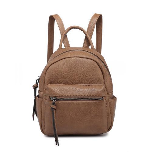 Bridget Mini Backpack - Camel