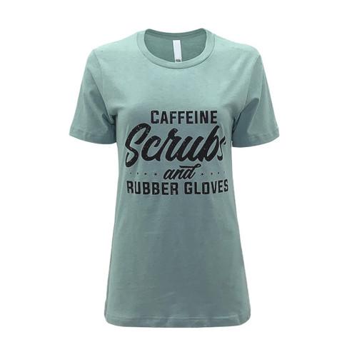 Caffeine & Scrubs Graphic Tee