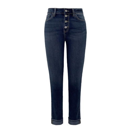 Clarissa High Rise Ankle Skinny Jean by KanCan