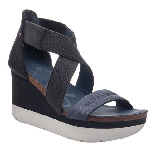 Summer's Leather Platform Wedge by OTBT