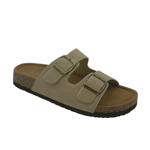 Leo Slip On Sandal - Taupe