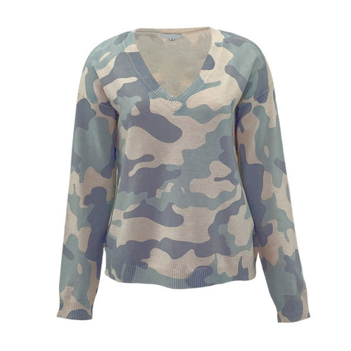 Outer Limits V-Neck Camo Sweater