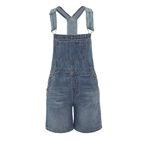 Nepal Relaxed Fit Short Overalls