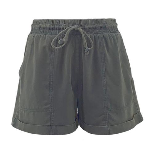 LuAnn Washed Tencel Shorts
