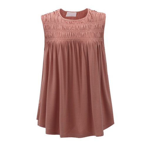 Love To Layer Ruched Top - Mauve