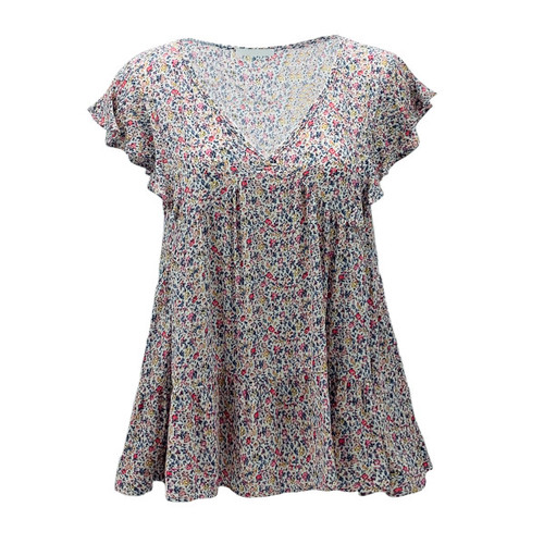 Win You over Floral Top