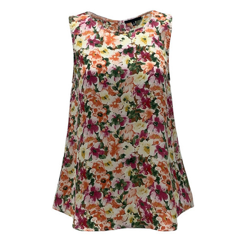 Follow A Journey Floral Top - Pink