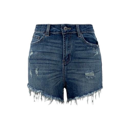 Tucson Distressed Raw Hem Shorts
