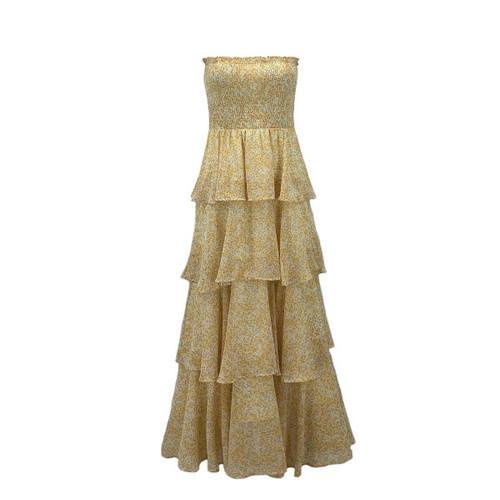 Aspen Sleeveless Tiered Skirt Dress