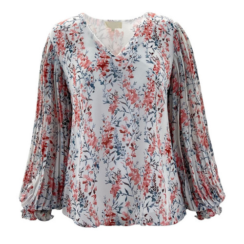 Your Every Move Floral Blouse - Ivory