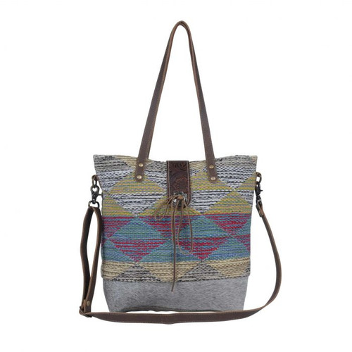 Muted Cones Tote Bag