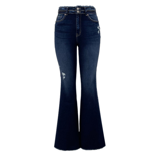 Pasadena High Rise Flare Jeans By KanCan