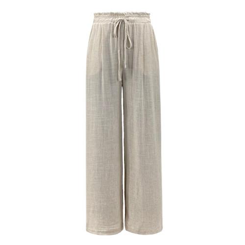 Lovely Linen Wide Leg Pants