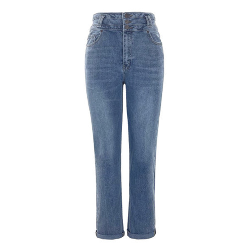 Jude High Rise Mom Fit Jeans by KanCan