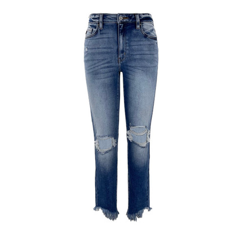 Adelle High Rise Ankle Skinny Jean by KanCan
