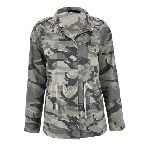 Far Away Camo Utility Jacket