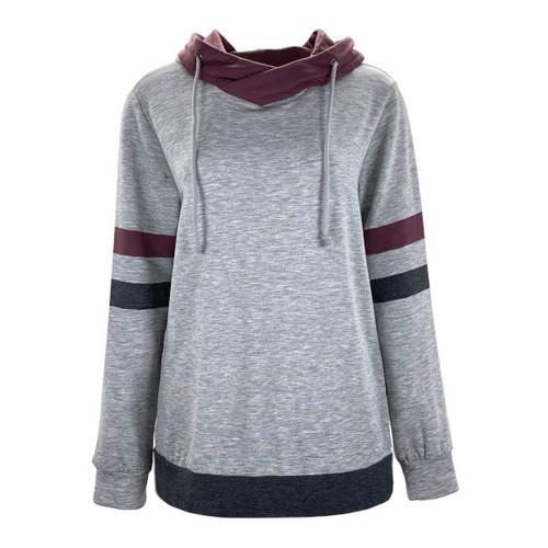 Benny Varsity Stripe Hooded Pullover