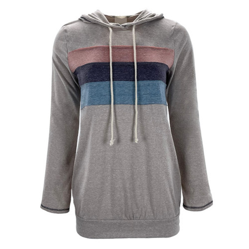 See You Soon Hooded Top - Taupe