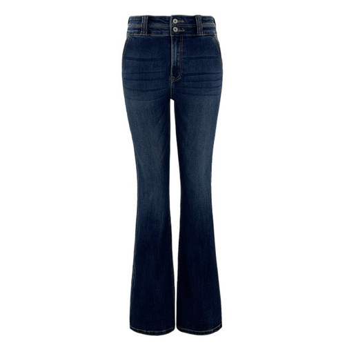 Leslie High Rise Bootcut Jeans by KanCan