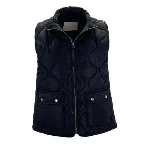 Stratton Vest by Thread & Supply - Black