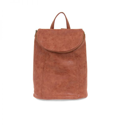Alyssa Distressed Backpack - Red Clay