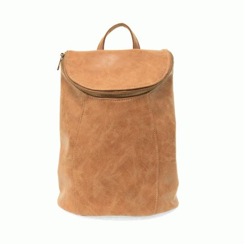 Alyssa Distressed Backpack - Walnut