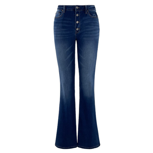 Caily Regular Rise Bootcut Jeans By KanCan