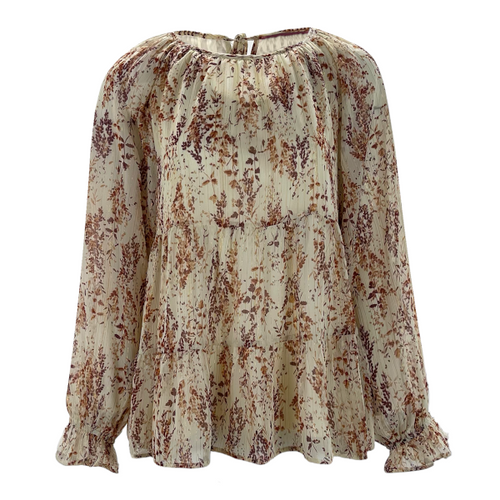 Discover Yourself Floral Blouse