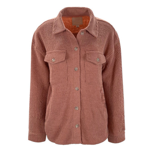 Harlow Jacket By Thread & Supply - Coral