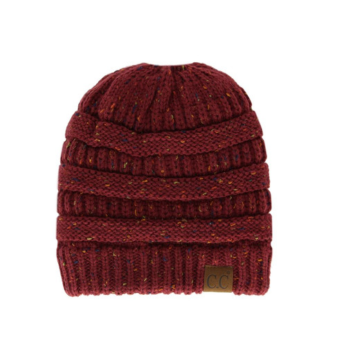 ff611c08043e49 Accessories - Winter Hats - Messy Bun C.C Beanie - Trendy Threads Inc