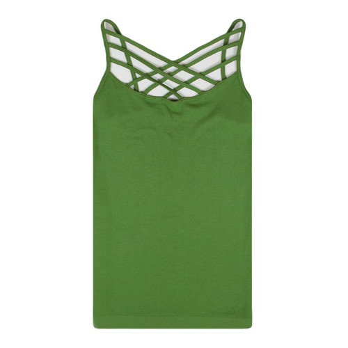 Criss Cross Cami - Kiwi