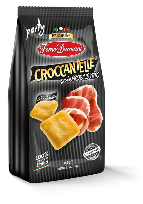 Delicious Prosciutto Flavored Italian Style Crackers